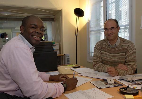 Philippe Bourdaire, responsable logistique pedagogique du Centre